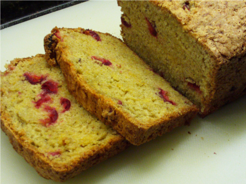 Cranberry Cheese Bread {Gluten-Free} | Wheat-Free Meat-Free