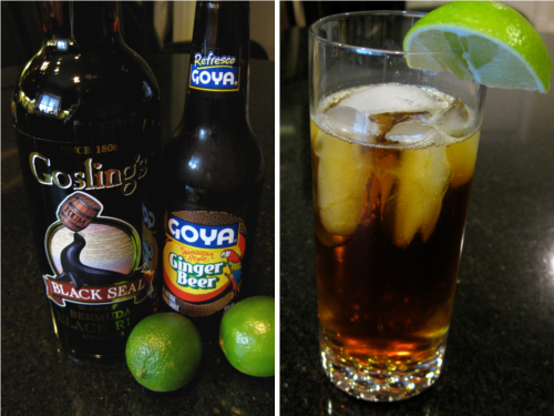 Dark and Stormy Cocktail   Wheat-Free Meat-Free