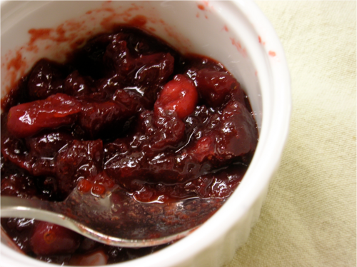 Spiced Cranberry Sauce — Wheat-Free Meat-Free