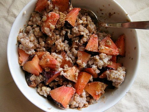 A Simple Bowl of Buckwheat | Wheat-Free Meat-Free