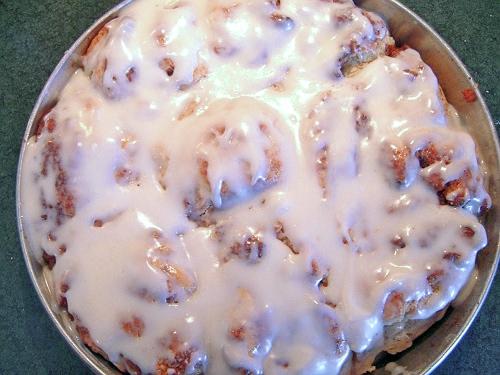 Baked Cinnamon Rolls {Gluten-Free} | Wheat-Free Meat-Free