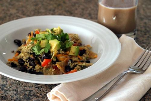 Migas {Gluten-Free, Vegetarian} | Wheat-Free Meat-Free
