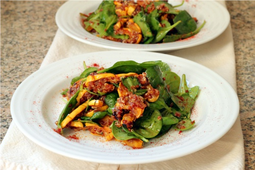 Quinoa Squash Salad with Honey Vinaigrette {Gluten-Free, Vegetarian} | Wheat-Free Meat-Free