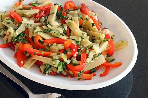 Bok Choy Bell Pepper Stir-Fry {Gluten-Free, Vegetarian} | Wheat-Free Meat-Free