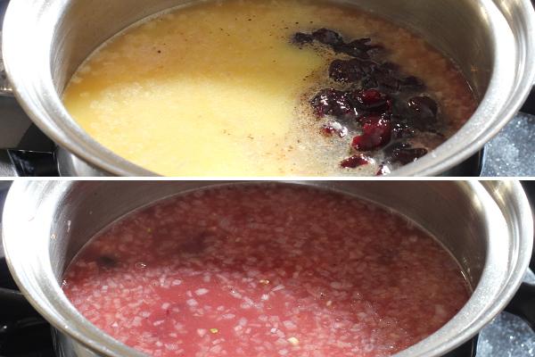 Making Cherry-Orange Glaze
