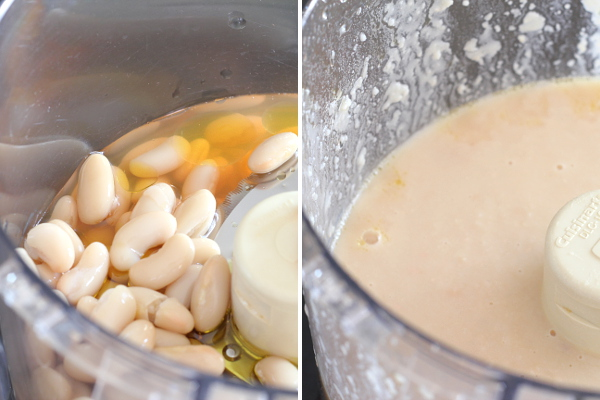 Making White Bean Puree