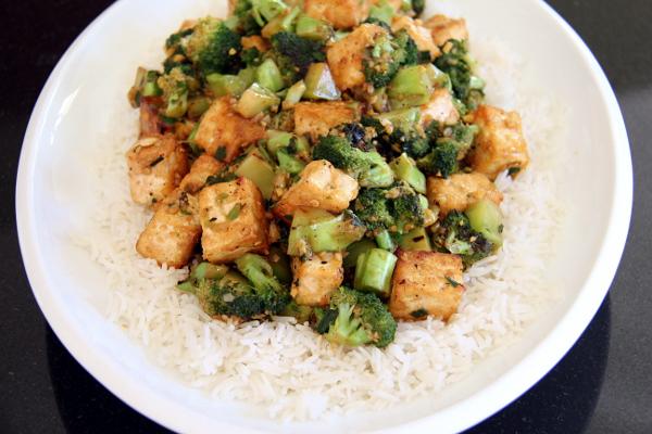 Broccoli and Tofu Stir-Fry
