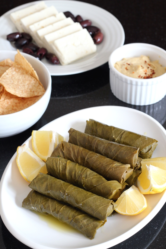 Dolma (Stuffed Grape Leaves) | Wheat-Free Meat-Free