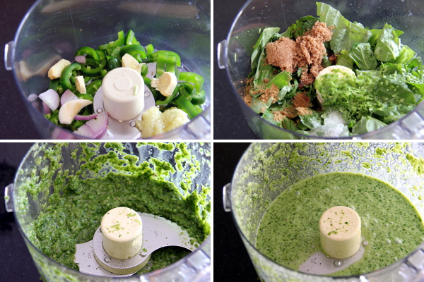 Making Green Curry   Wheat-Free Meat-Free