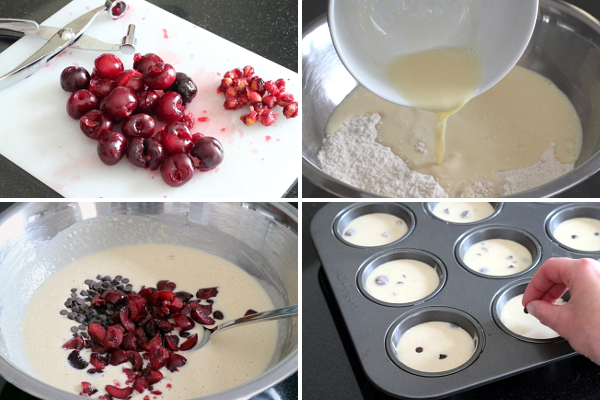 Making Cherry Chocolate Chip Muffins | Wheat-Free Meat-Free