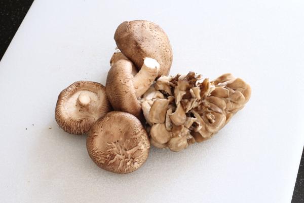 Shiitake and Maitake Mushrooms   Wheat-Free Meat-Free