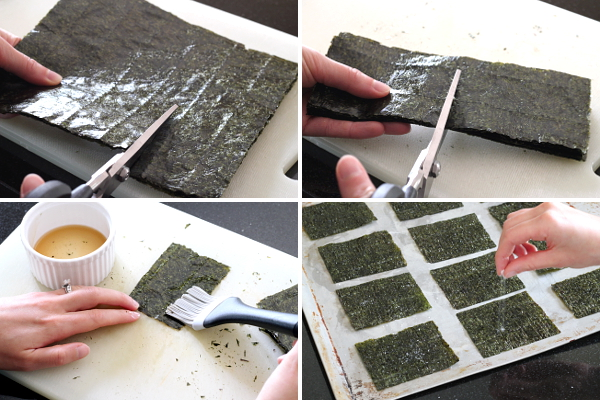 Making Seaweed Crisps | Wheat-Free Meat-Free