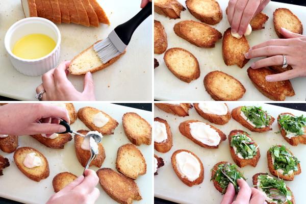 Assembling Bruschetta | Wheat-Free Meat-Free