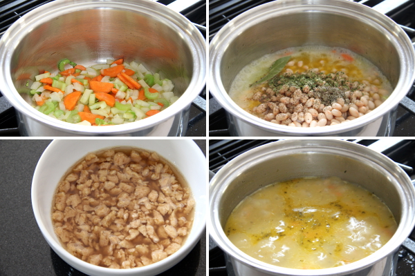 "Making ""Ham"" and Bean Soup 