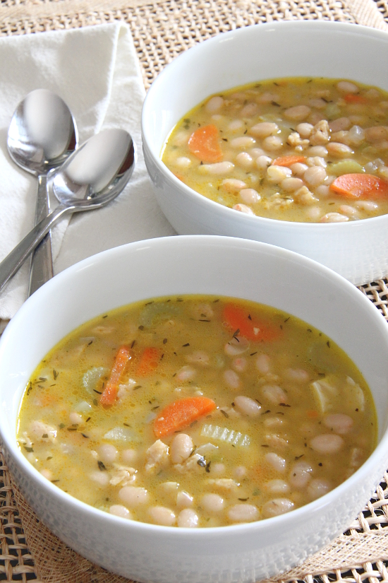 """Ham"" and Bean Soup {Gluten-Free, Vegan} 