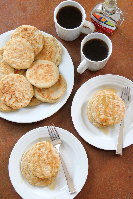 Yeasted Pancakes {Gluten-Free} | Wheat-Free Meat-Free