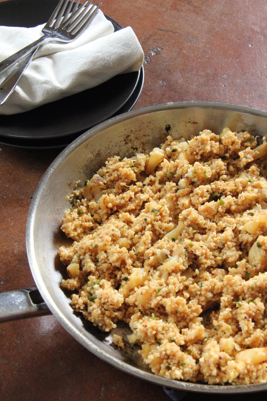 Pineapple Fried Millet {Gluten-Free, Vegan} | Wheat-Free Meat-Free
