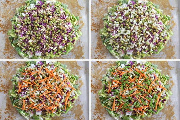 The Other Half of a Sesame Ginger Salad   Wheat-Free Meat-Free