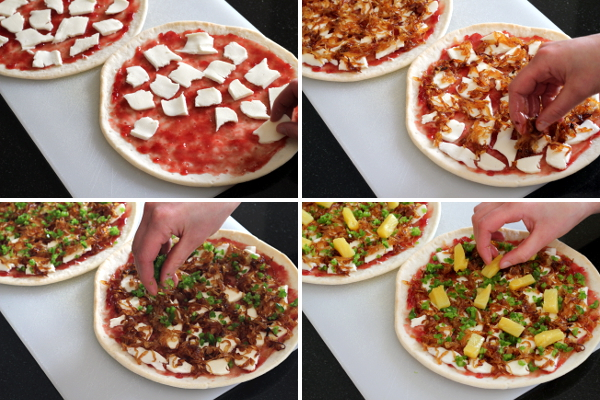 Adding the Rest of the Toppings | Wheat-Free Meat-Free