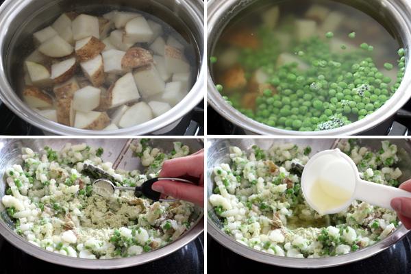 Making Wasabi Pea Mashed Potatoes | Wheat-Free Meat-Free