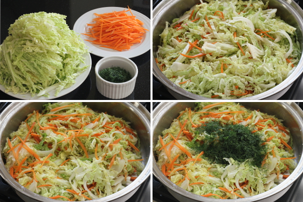 Making Buttery Cabbage with Dil l| Wheat-Free Meat-Free