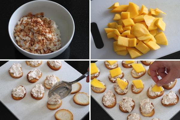 Assembling Mini Toasts | Wheat-Free Meat-Free