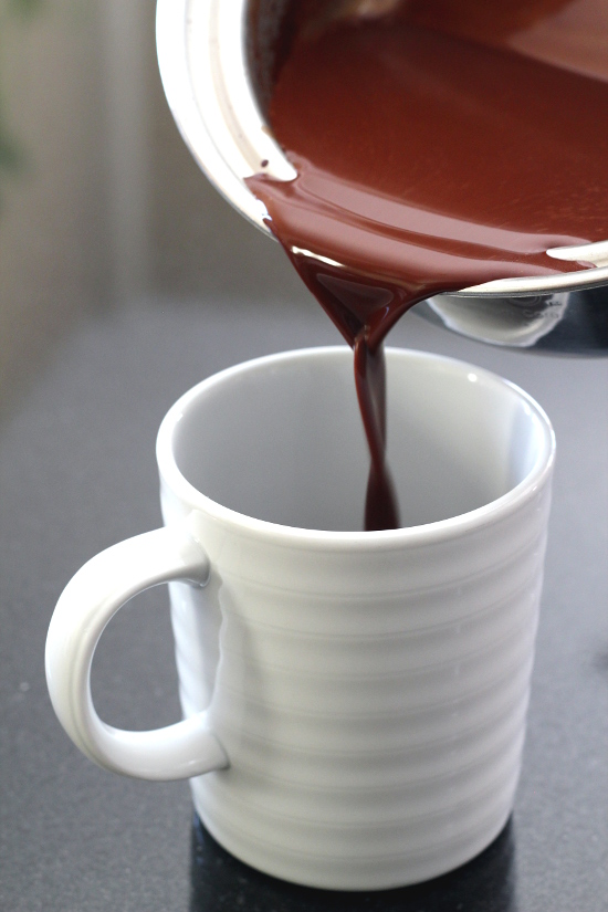 Spicy Drinking Chocolate with Rosewater | Wheat-Free Meat- Free