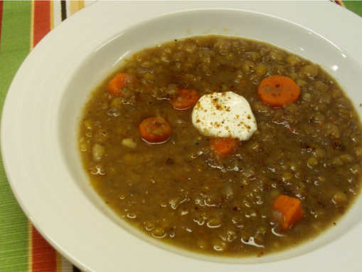 Split Pea Soup | Wheat-Free Meat-Free