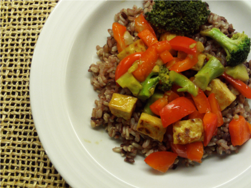 Orange Tofu Stir-Fry | Wheat-Free Meat-Free