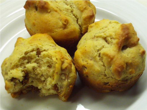 Dried Fig Muffins {Gluten-Free}   Wheat-Free Meat-Free