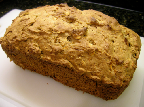 Apple Cinnamon Bread {Gluten-Free} | Wheat-Free Meat-Free