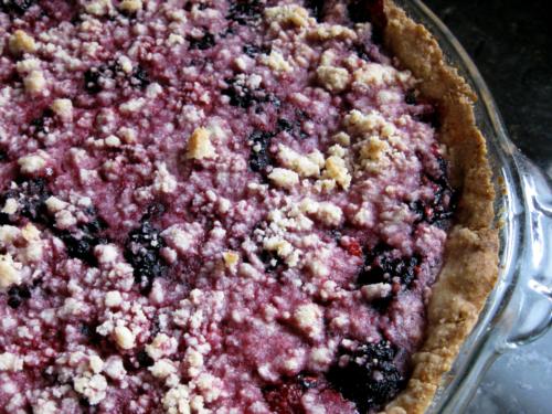 Berry Pie {Gluten-Free} | Wheat-Free Meat-Free