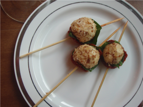 Goat Cheese Skewers | Wheat-Free Meat-Free
