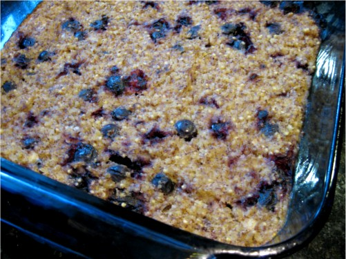 Millet Breakfast Casserole |Wheat-Free Meat-Free