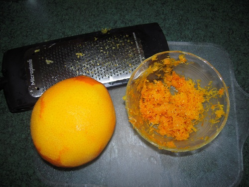 Make Sure You Just Get The Orange Part Of Skin When Zesting Want To Stop Before Hit White Rind