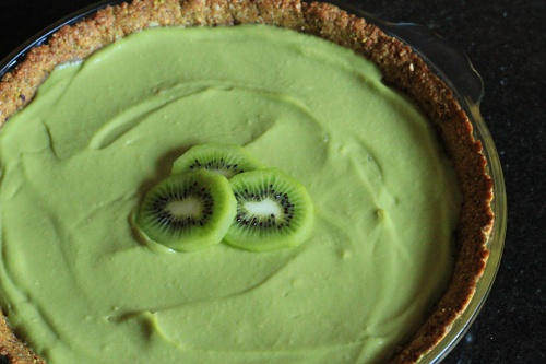 Avocado Pie {Gluten-Free} | Wheat-Free Meat-Free