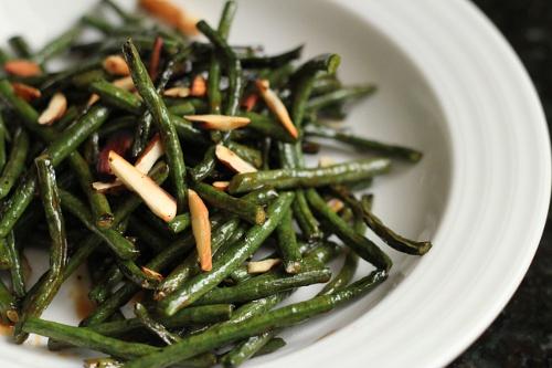 Long Bean Stir-Fry {Gluten-Free, Vegetarian} | Wheat-Free Meat-Free