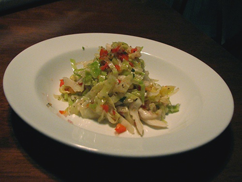 Vinegar Coleslaw | Wheat-Free Meat-Free