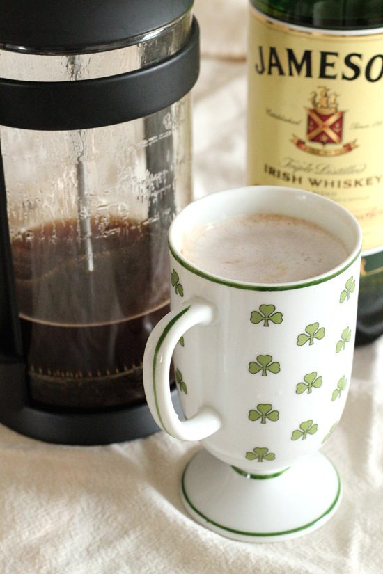 Irish Coffee | Wheat-Free Meat-Free