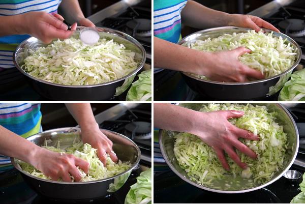 Second Steps for Sauerkraut