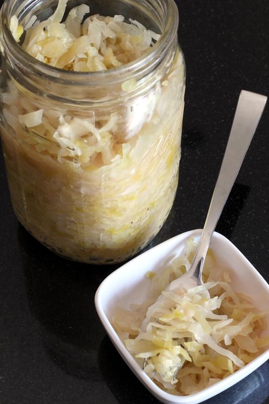 Garlic Sauerkraut