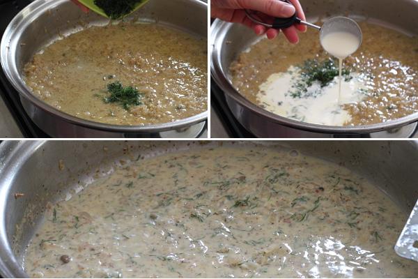 Finishing Mustard Dill Sauce