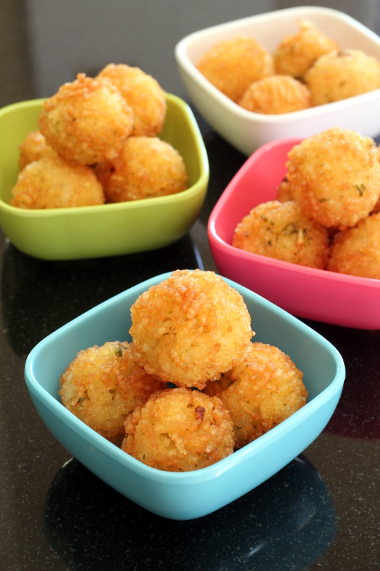 Stuffed Rice Balls