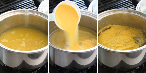Cooking Polenta | Wheat-Free Meat-Free