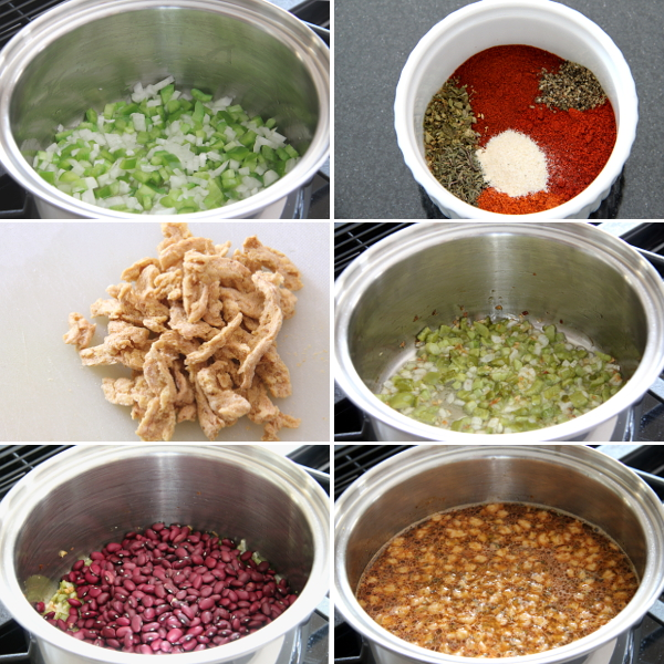 Making Red Beans and Rice | Wheat-Free Meat-Free