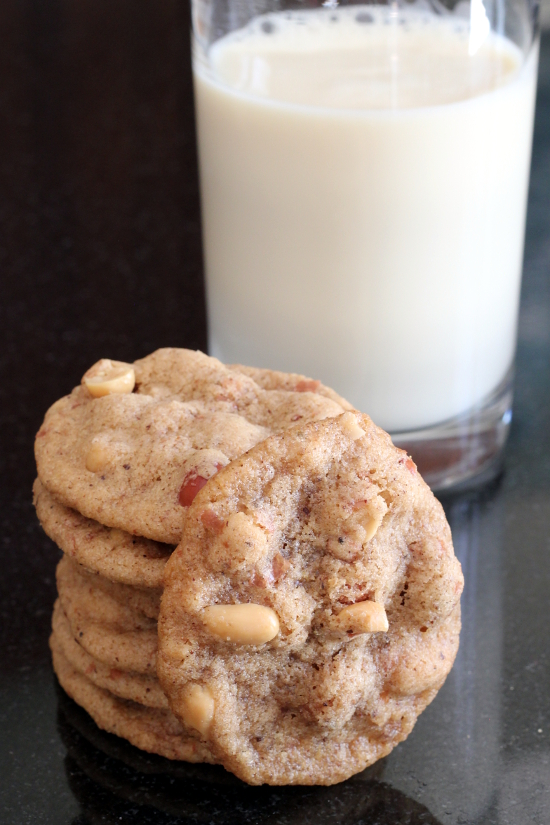 Five Spice Peanut Cookies {Gluten-Free, Dairy-Free, Egg-Free, Vegan} | Wheat-Free Meat-Free