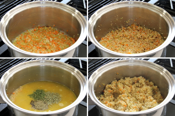 Making Couscous Pilaf | Wheat-Free Meat-Free