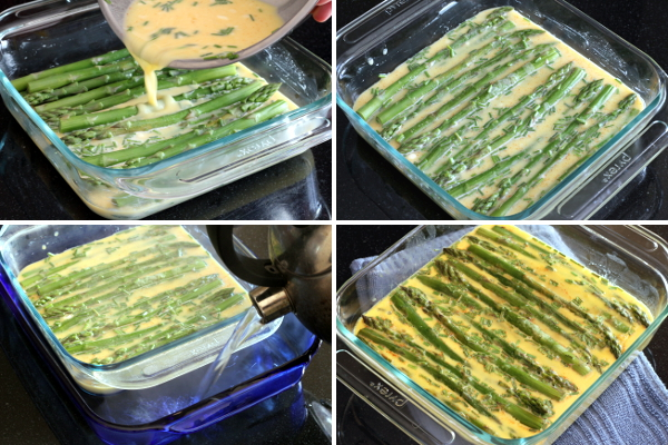 Making Asparagus Custard 2 | Wheat-Free Meat-Free
